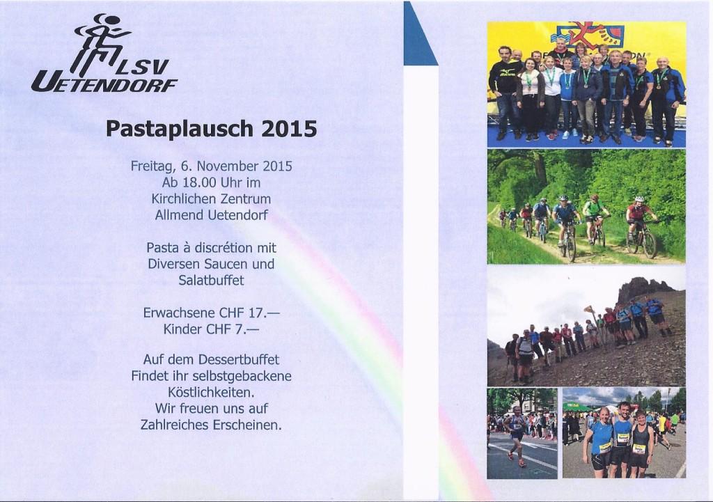 2015 Pasta Flyer